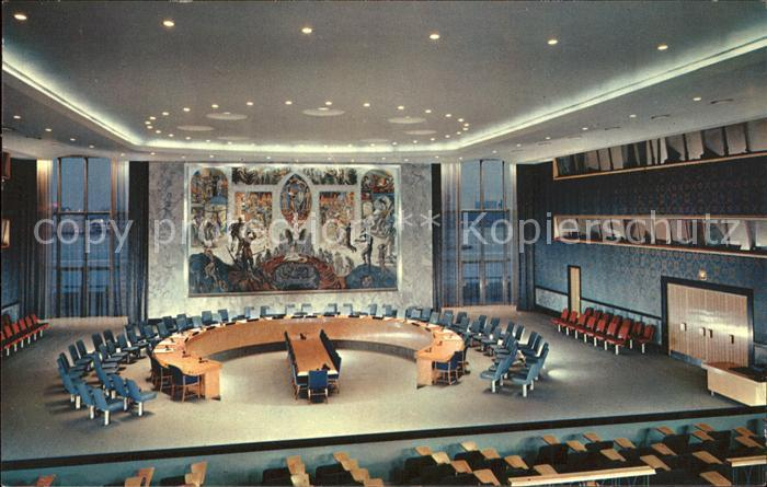 New York City Security Council Chamber / New York /
