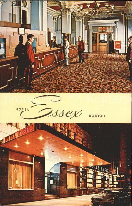 Boston Massachusetts Hotel Essex Kat. Boston