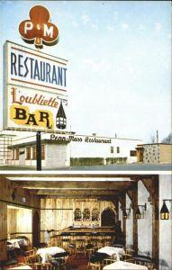Cap de la Madeleine Restaurant Loubliette Bar Kat. Cap de la Madeleine