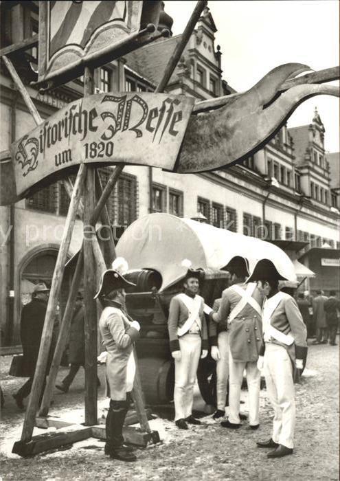 Leipzig Historische Messe um 1820 Kat. Leipzig