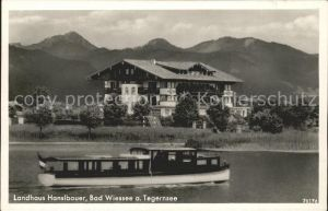 Bad Wiessee Landhaus Hansbauer Boot Kat. Bad Wiessee