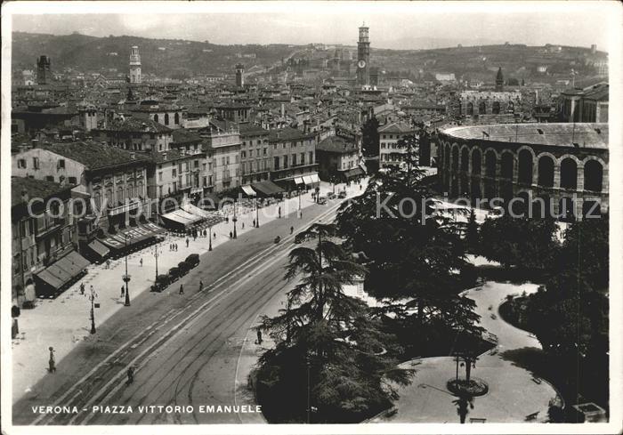 Verona Veneto Piazza Vittorio Emanuele Kat. Verona