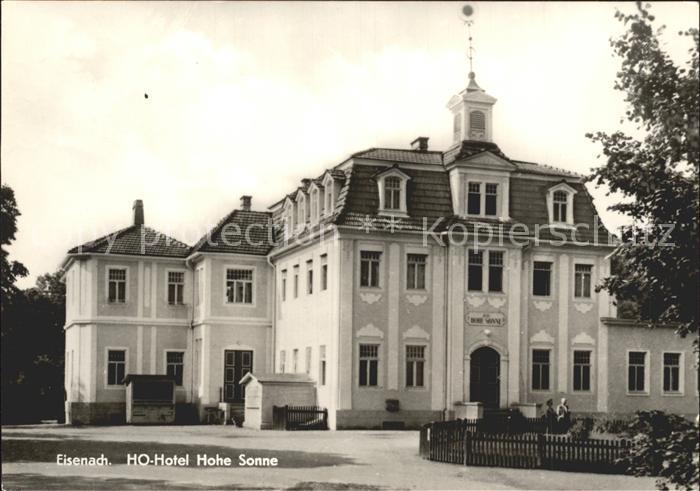 Hohe Sonne Eisenach