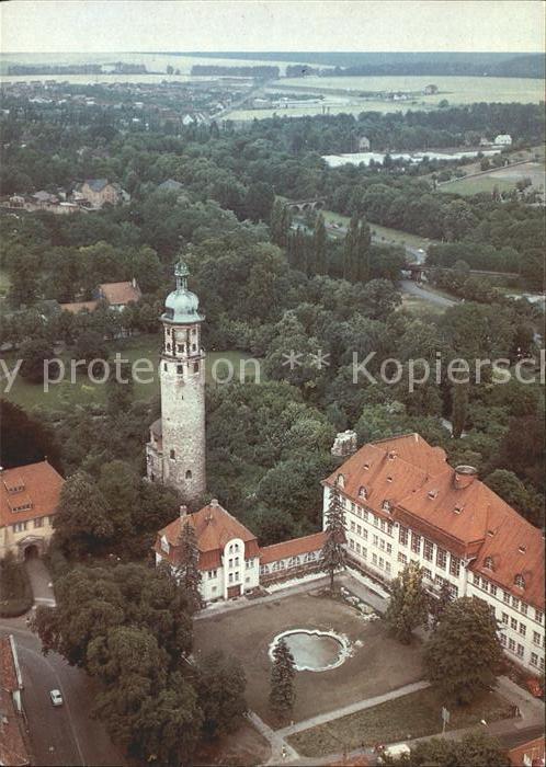 Arnstadt Ilm Schlossruine Neideck und Neues Palais Kat. Arnstadt