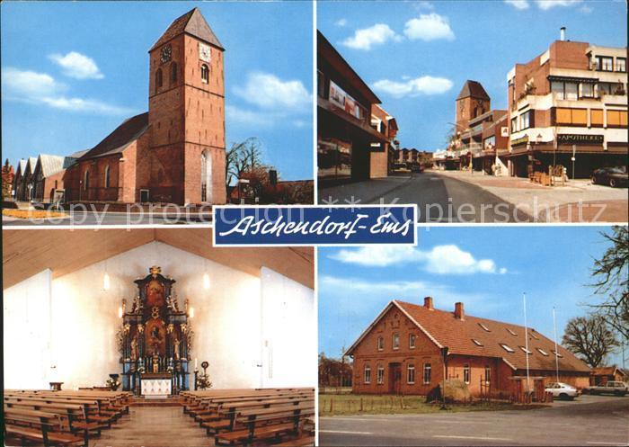 Aschendorf Ems Kirche Kat. Papenburg