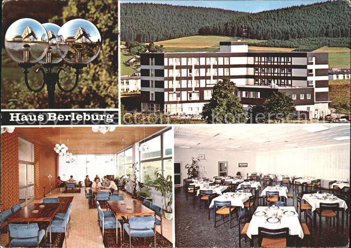 Bad Berleburg Haus Berleburg Kat. Bad Berleburg