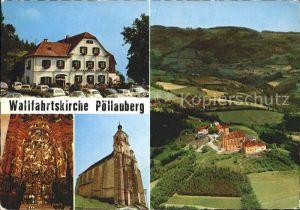 Poellauberg Wallfahrtskirche Kat. Poellauberg Steiermark
