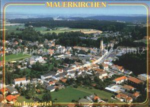 Mauerkirchen Fliegeraufnahme Kat. Mauerkirchen