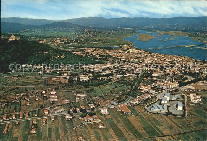 Viana do Castelo Fliegeraufnahme Kat. Viana do Castelo