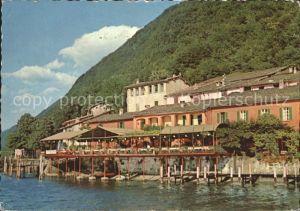 Caprino Felsenkeller Restaurant Dancing Kat. Lugano