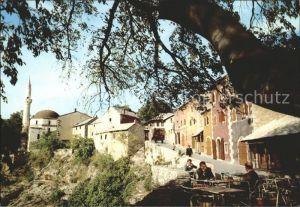 Mostar Moctap Altstadtpartie Kat. Mostar