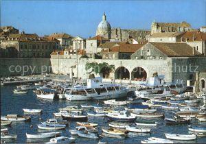 Dubrovnik Ragusa Hafen Boote  Kat. Dubrovnik