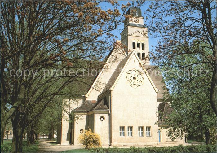 Falkenberg Elster Evangelische Kirche Kat. Falkenberg Elster
