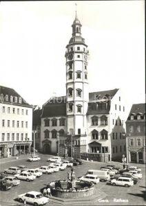 Gera Rathaus Markt Brunnen Kat. Gera