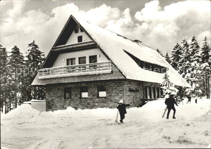 Friedrichroda Heuberghaus Kat. Friedrichroda