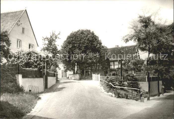 Schmannewitz Dorfstrasse Kat. Dahlen Sachsen