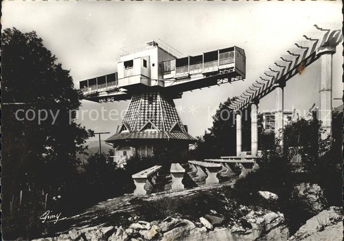 Aix les Bains Solarium tournant Architecte A. Farde Kat. Aix les Bains