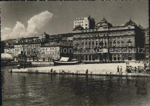 Rijeka Partie am Hafen Kat. Rijeka