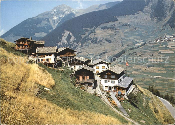 Vicheres Entremont Route du Grand Saint Bernard Kat. Vicheres