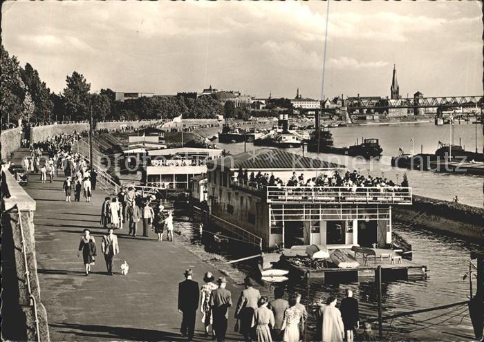 Duesseldorf Rheinpromenade Kat. Duesseldorf
