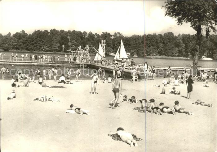 Kyritz Brandenburg Strandbad Kat. Kyritz