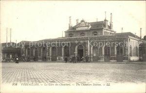 Versailles Yvelines Versailles La Gare des Chantiers  Kat. Versailles