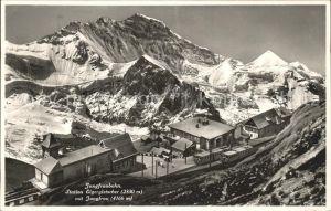 Jungfraubahn Station Eigergletscher Jungfrau Kat. Jungfrau