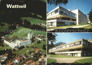 Wattwil Spital Wattwil Fliegeraufnahme Kat. Wattwil