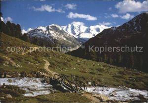 Pontresina Oberengadin bei Alp Languard Kat. Pontresina