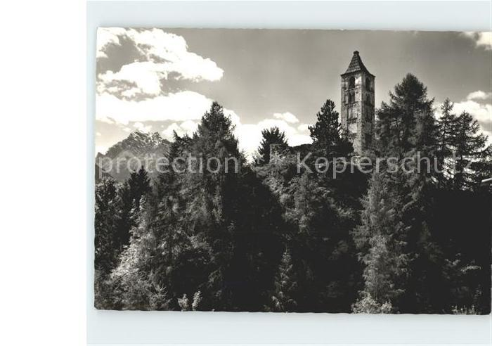Sent Schlosskapelle St Peter Kat. Sent