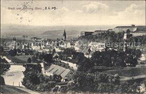 Glatz Niederschlesien Stadt und Festung Glatz Kat. Klodzko
