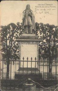Chateau Thierry Statue de Jean de La Fontaine Kat. Chateau Thierry