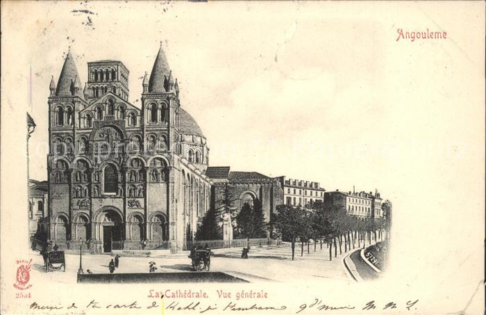 Angouleme La Cathedrale Vue generale Kat. Angouleme