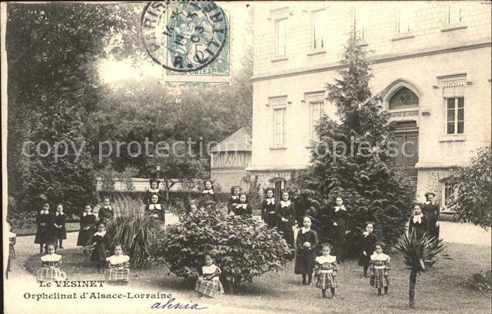 Le Vesinet Orphelinat d Alsace Lorraine Kat. Le Vesinet
