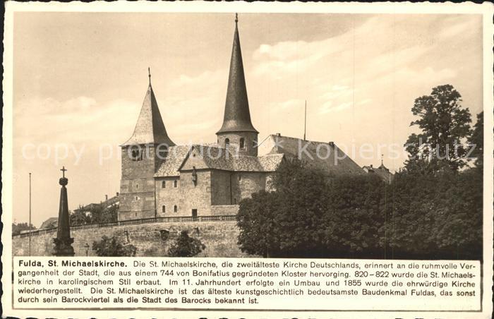 Fulda St. Michaelskirche Kat. Fulda