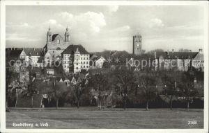 Landsberg Lech Ansicht mit Malteserkirche Turm Kat. Landsberg am Lech