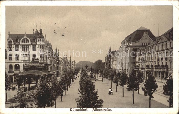 Duesseldorf Alleestrasse Kat. Duesseldorf