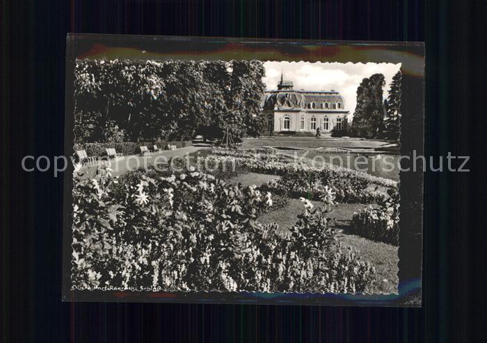 Benrath Schloss Park Teich Kat. Duesseldorf