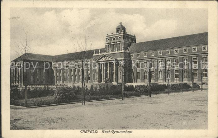 Krefeld Real Gymnasium Kat. Krefeld