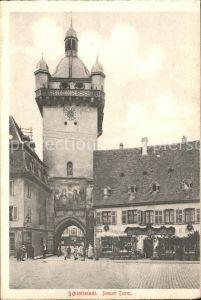 Schlettstadt Neuer Turm Torbogen Kat. Selestat
