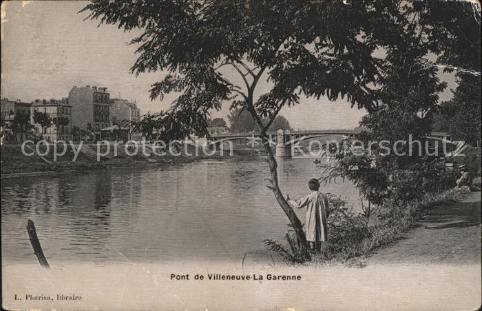 Villeneuve la Garenne Le Pont Kat. Villeneuve la Garenne
