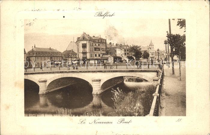 Belfort Alsace Le Nouveau Pont Kat. Belfort
