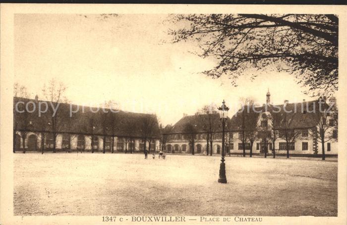 Bouxwiller Saverne Place du Chateau Kat. Bouxwiller