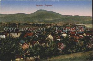 Gereuth Elsass Vue generale et les Vosges Kat. Neubois