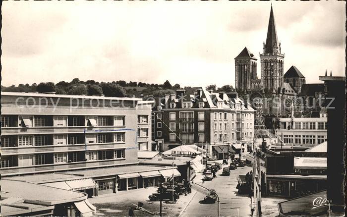 Lisieux Rue Henri Cheron Cathedrale Kat. Lisieux