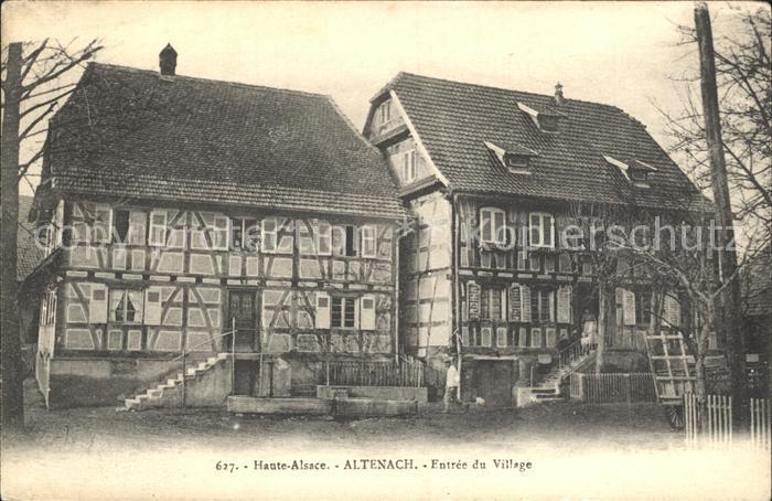 Altenach Entree du Village Kat. Altenach