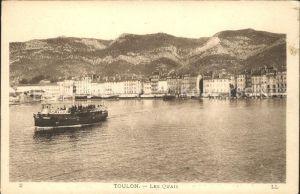 Toulon Var Les Quais Bateau Cote d Azur Kat. Toulon
