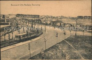 Lille Nord Boulevard Lille Roubaix Tourcoing Tram Kat. Lille