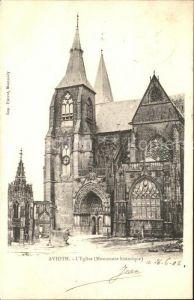 Avioth Eglise Monument historique Kat. Avioth