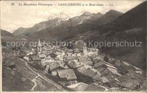 Lanslebourg Mont Cenis Panorama Kat. Lanslebourg Mont Cenis